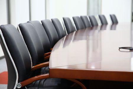 sala de reuniões: uma sala de confer