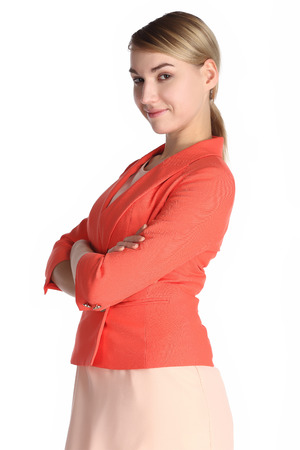 Saleswoman Stock Photo - 24091505