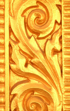 Gold  traditional background photo