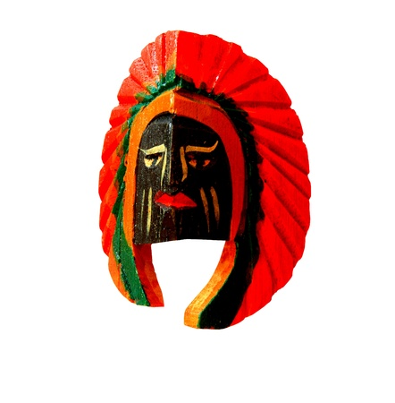 Color wood Mask Stock Photo - 12030477