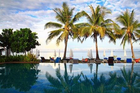 Sea Pool In Paradise