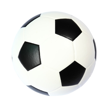 high quality isolated soccer ball photo