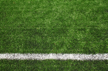 cancha deportiva futbol: fútbol campo de hierba Foto de archivo