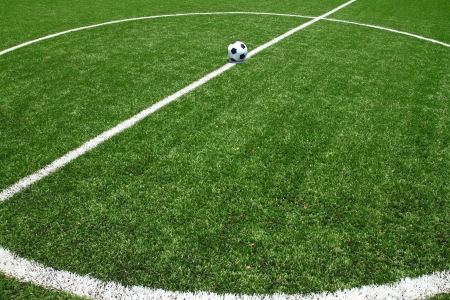 synthetic: soccer field grass