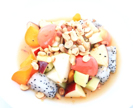 fresh fruits salad photo