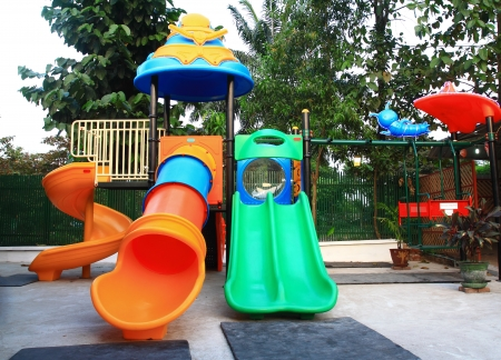 children playground: cartoon park playground