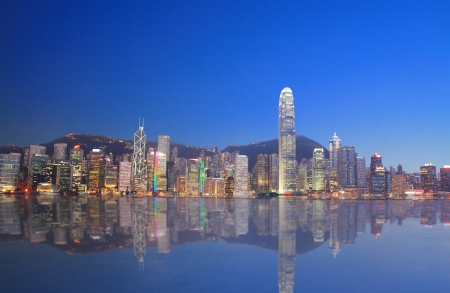 Hong Kong Skyline  Standard-Bild