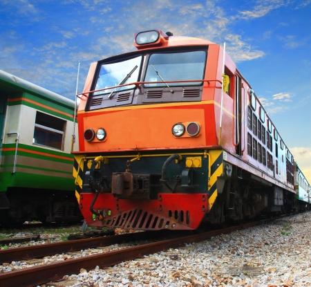 freight train: vintage train