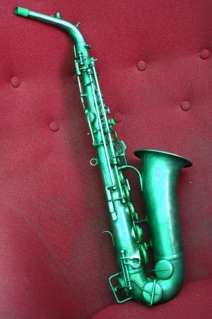Vintage Alto Saxophone woodwind instrument  photo