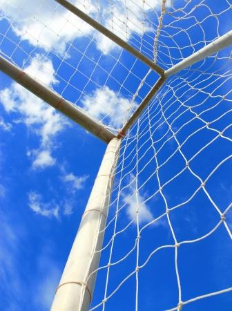 soccer net: Soccer goal with net