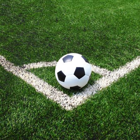 サッカー フィールドの草