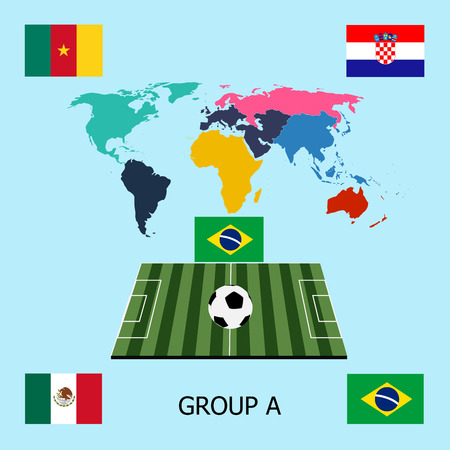 qualify: Soccer group A