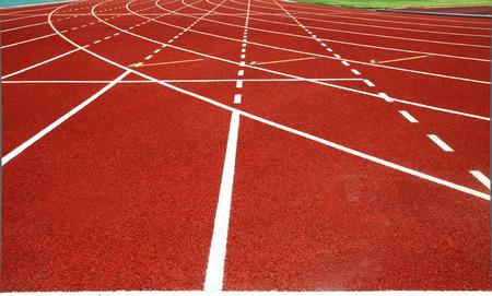 one lane: retro sport running track