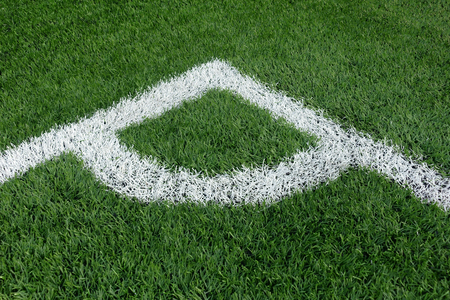pasto sintetico: campo de fútbol