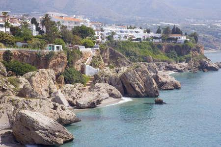 andalusien: Nerja Costa del Sol Malaga Provinz Andalusien Spanien Lizenzfreie Bilder