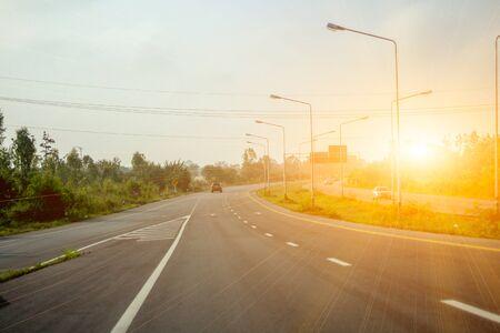 Long and beautiful road