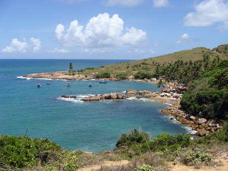 praia: Praia de Calhetas in Pernambuco in Brazil                  Stock Photo