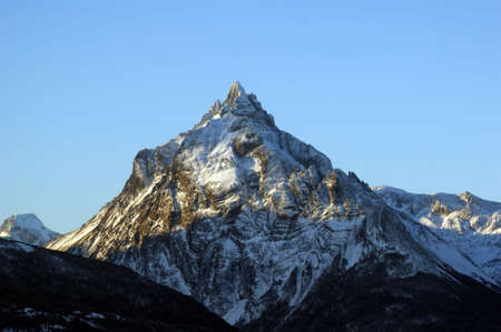 olivia: Mount Olivia from the Andes in Tierra del Fuego