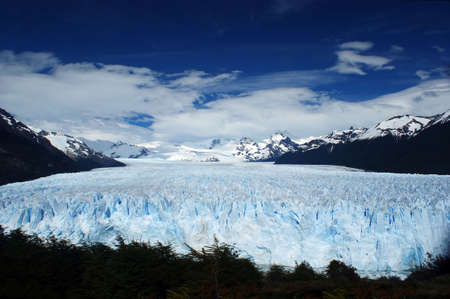Incredible view of the Perito Moreno glacier