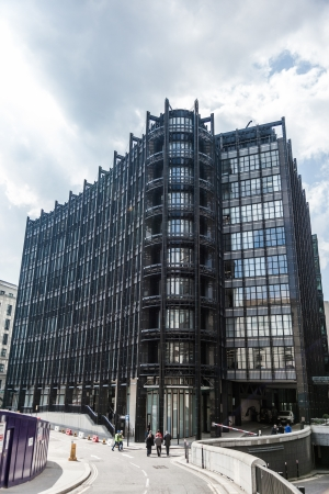 City Office Buildings In London Town