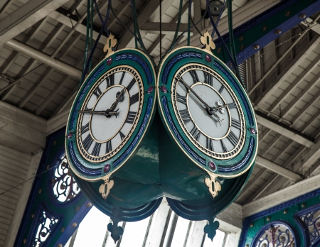 Faces-Of-Clock-In-London photo