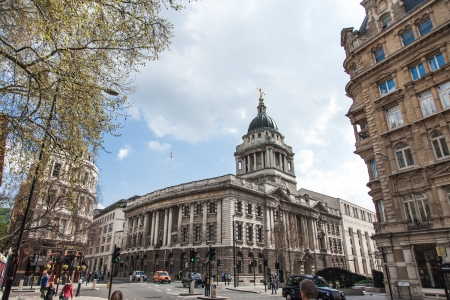 Tower Buildings In London Town