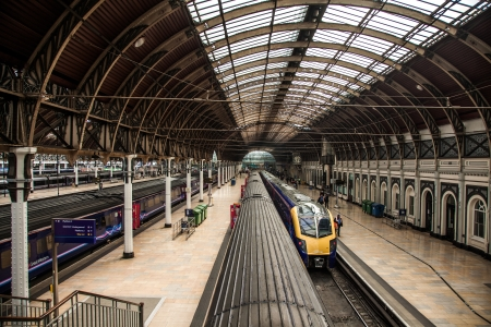 Paddington Train Station In London Town Stock Photo - 17654331