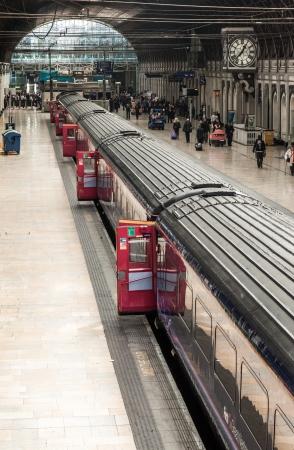 Paddington Train Station In London Town Stock Photo - 17654340