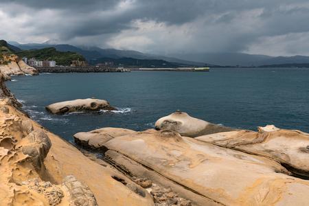 Taiwan Yehliu Geopark scenery