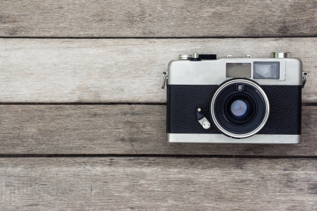 camera lens: oude herinnering oude camera Stockfoto