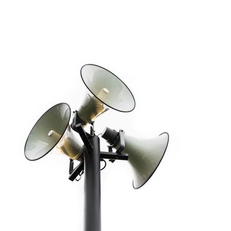 pole megaphone