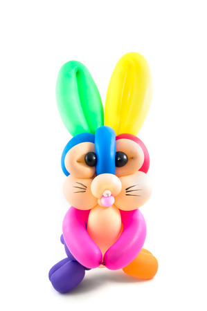 rabbit balloon photo