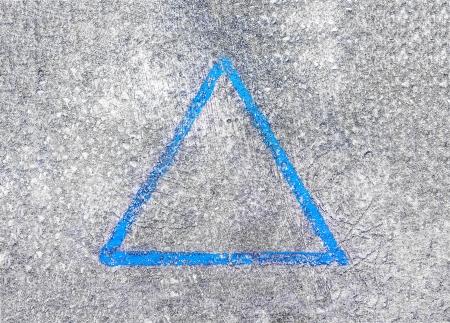 triangle sign photo