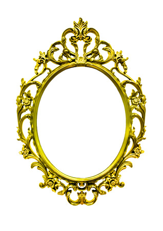 super gold frame antique style