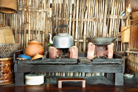 thai rustic kitchen
