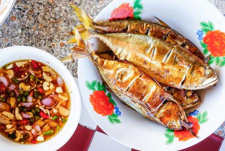 grilled mackerel  photo