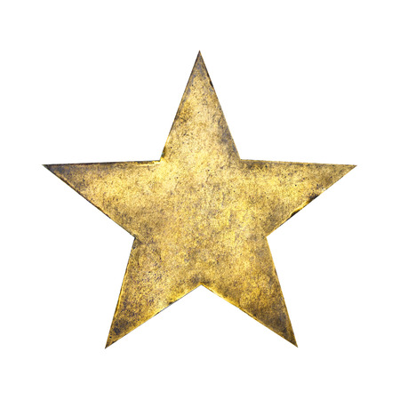 gold star Stockfoto