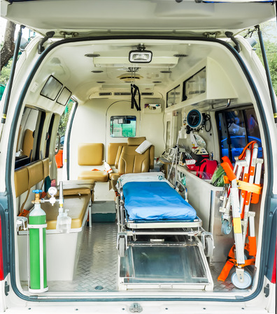 ambulance inside Stock Photo - 30694838