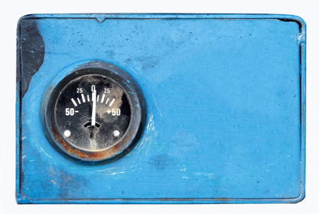 meter box: voltage box meter Stock Photo