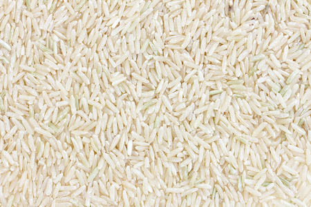 unpolished: Brown Rice or Unpolished Rice isolated white background