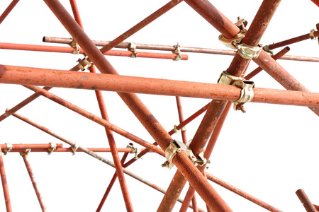 scaffolding clamp isolated white background