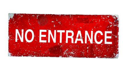 no entrance: No Entrance plate grunge style