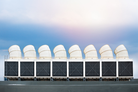 air ventilation system in factory