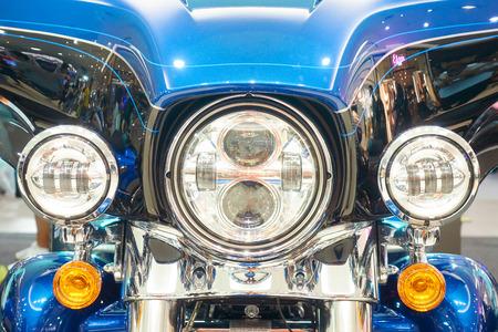 Bangkok,Thailand - September 23, 2018 : Harley Davidson Electra glide at FashionIsland Motor Show 2018 Editorial