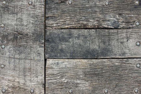 The plank has rivet all-around frame