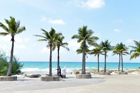 stunning beach at Thailand