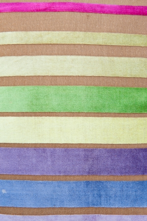 Fabric with colorful pattern, background and texture  Stock Photo