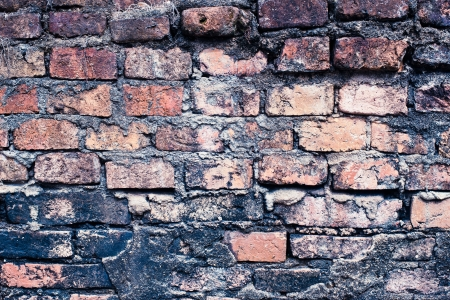 Vintage Background of brick wall texture  Stock Photo
