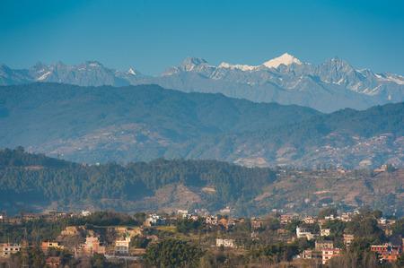 Beautiful landscape in Himalays, Annapurna region, Nepal