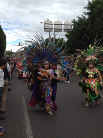 ritual dance group Concheros
